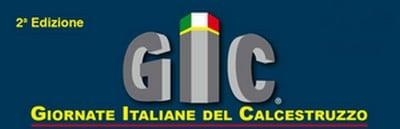 Gic le giornate italiane del calcestruzzo